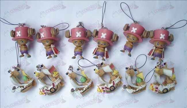 12 27 Generation One Piece Accessories Chopper + boat (12 / set)