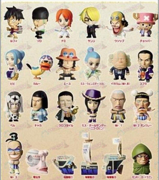 24, Q version of One Piece Accessories (5-6cm)