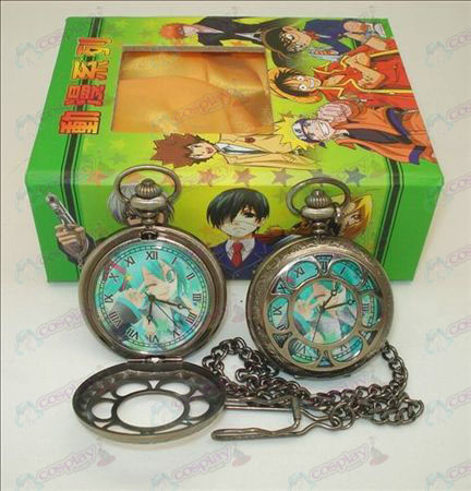 Hatsune hollow pocket watch (wink) + Cards