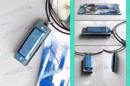 Hatsune harmonica necklace