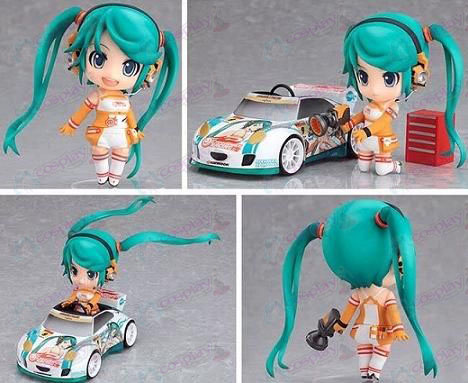 Q-109 # racing girl Hatsune Miku Accessories