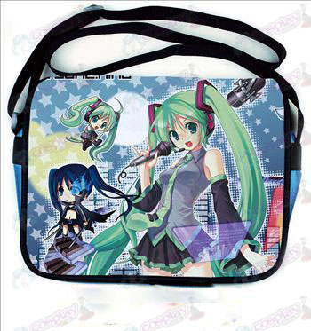 Hatsune colored leather satchel 503