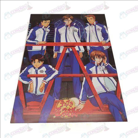 D42 * 29The Prince of Tennis Accessories embossed posters (8)
