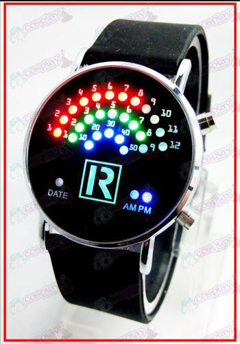 Colorful Korean fan LED watches - The Prince of Tennis Accessories