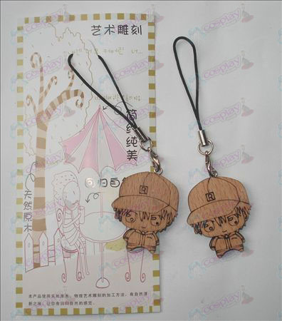 The Prince of Tennis Accessories Wood Carving Strap (a)