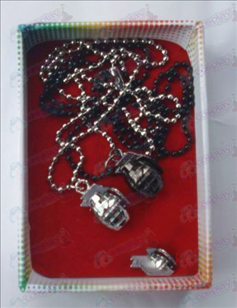 CrossFire Accessories grenades couple necklace