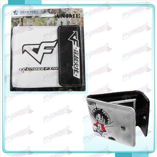 CrossFire Accessories logo snap wallet