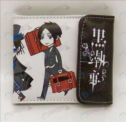 Black Butler Accessories snap wallet (Jane)