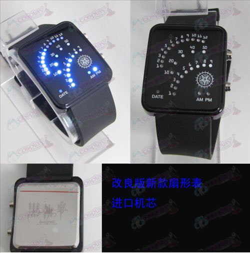 Black Butler Accessories Sector LED Watch