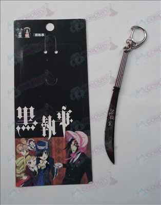 Black Butler Accessories Knife Buckle (Black)