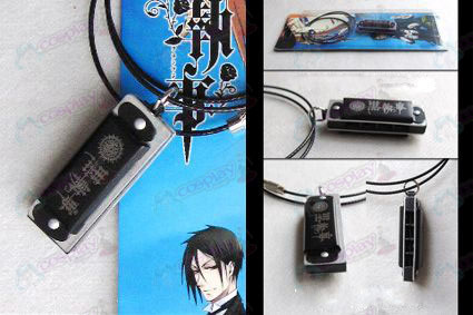 Black Butler Accessories Harmonica Necklace