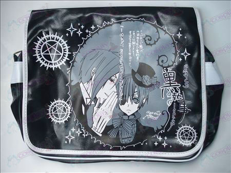 Black Butler Accessories leather satchel