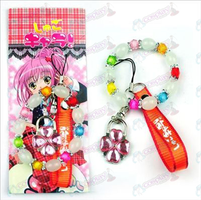 Blister card Shugo Chara! Accessories Machine Strap + Bracelet (lock)