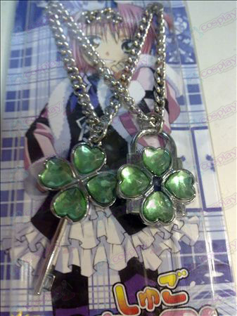 Shugo Chara! Accessories Necklace (Green)