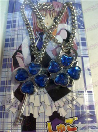 Shugo Chara! Accessories Necklace (Blue)