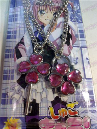 Shugo Chara! Accessories Necklace (Pink)