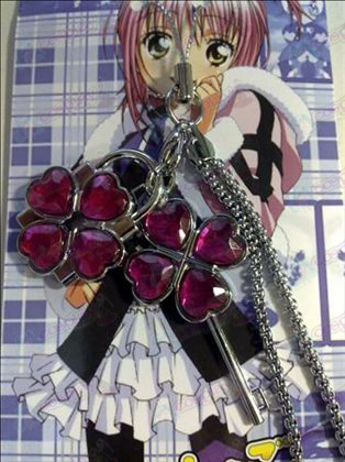 Shugo Chara! Accessories couple phone chain (Rose)