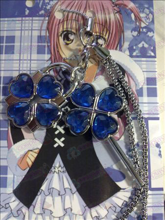 Shugo Chara! Accessories Fashion Phone Strap (Blue)