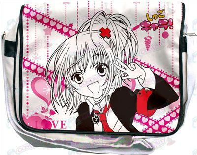 Shugo Chara! Accessories bag (white)