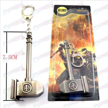 World of Warcraft Accessories Warhammer world Sigil Keychain