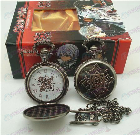 Vampire flag pocket watch (UP) + card