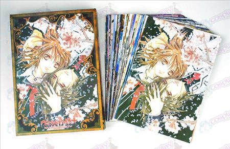 Vampire knight Accessories Postcards + card 2