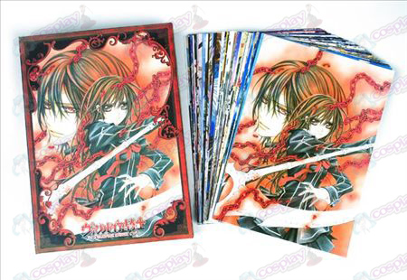 Vampire knight Accessories Postcards + card 1