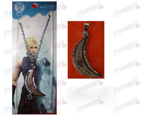 Final Fantasy Accessories Moon Series O word necklace