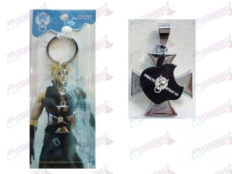 Final Fantasy Accessories Apple keychain