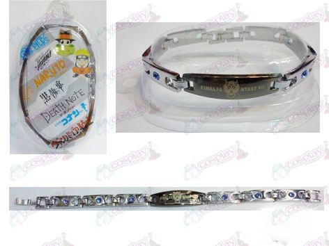 Final Fantasy Accessories stainless steel diamond bracelet