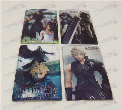 4 PVCFinal Fantasy Accessories simcard