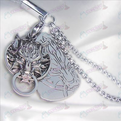 Final Fantasy Accessories-Langtou dual card mobile phone chain