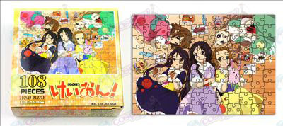 K-On! Accessories puzzle (108-010)