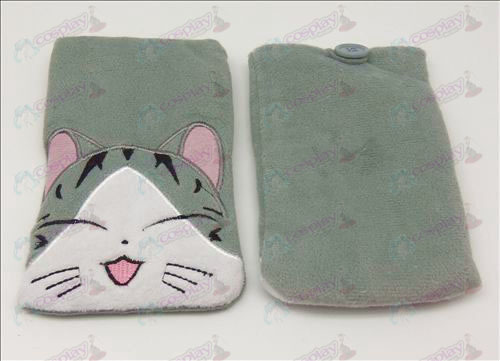 Sweet Cat Accessories Pouch (squinting)