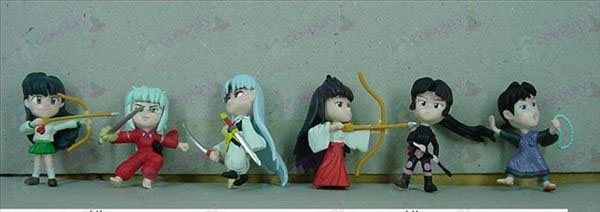 6 InuYasha Accessories Doll
