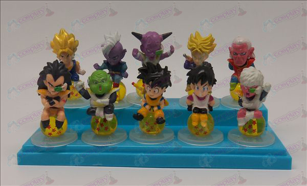 10 sit Pearl Dragon Ball Accessories Base 2