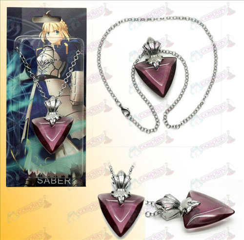 Steins; Gate Accessories necklace purple