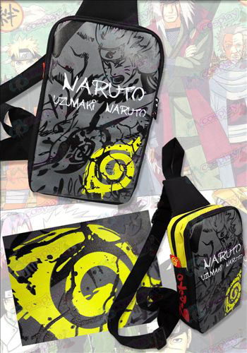15-207 shoulder bag Naruto konoha