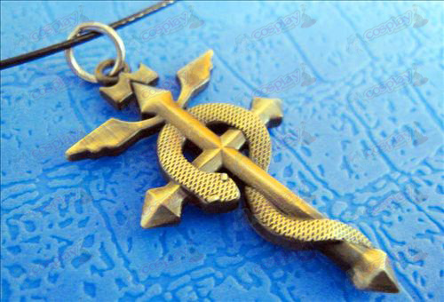 Ganglianshezhang necklace