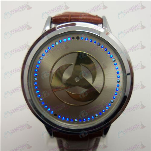 Advanced Touch Screen LED Watch (Naruto write round eyes)