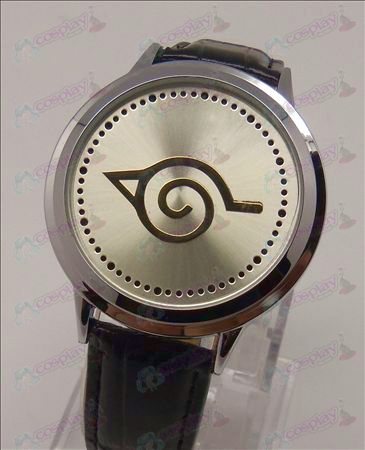 Advanced Touch Screen LED Watch (Naruto konoha)