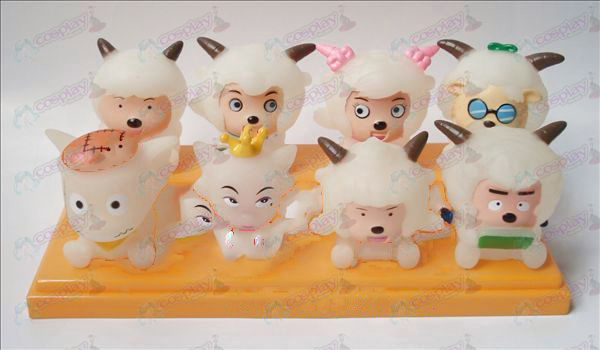 Transparent Pleasant and Wolf eight Tong glue Doll