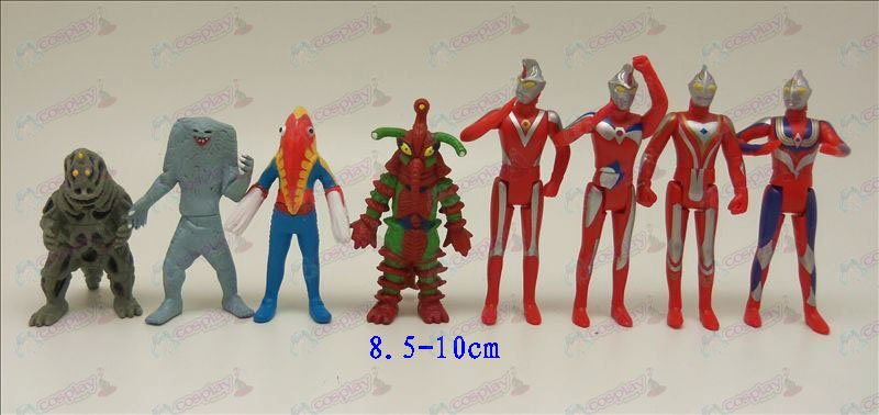Eight Ultraman Accessories Doll
