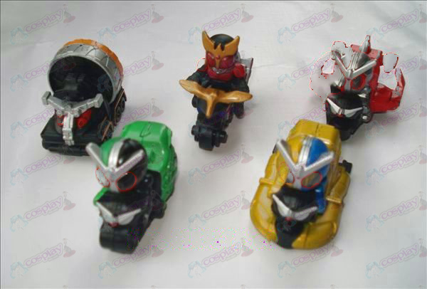 5 models Ultraman Accessories
