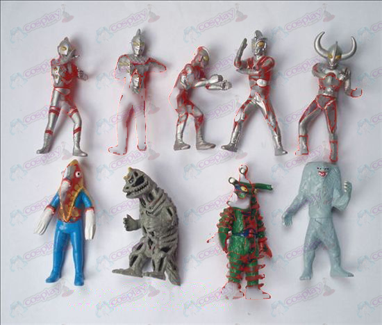 9 Superman Ultraman Accessories Doll