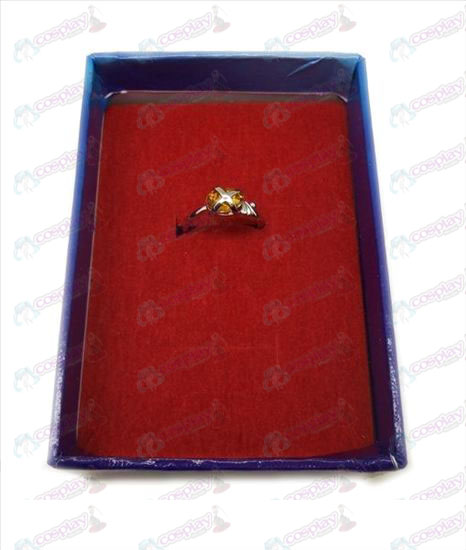 Shakugan no Shana gemstone rings (small orange)