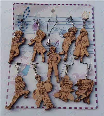 9 Naruto wood engraving Strap