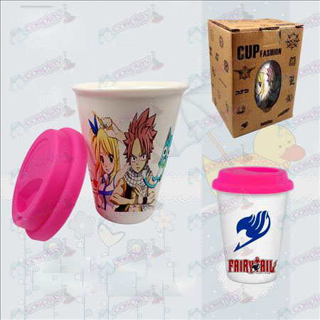 Double color ceramic cups (Fairy Tail Accessories)