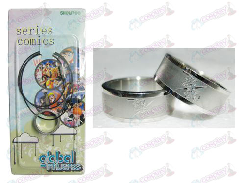 Gin Tama Accessories Frosted Ring Necklace - Rope