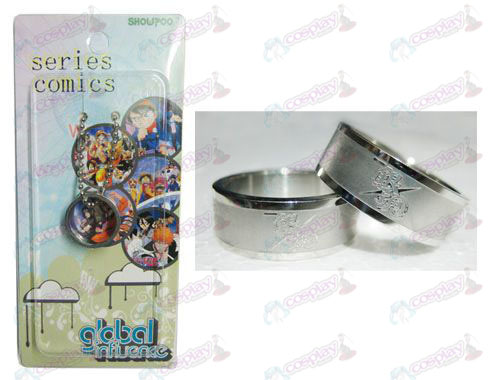 Gin Tama Accessories Frosted Ring